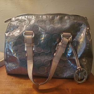 🍓 Silver & Cream MK Handbag 🍓